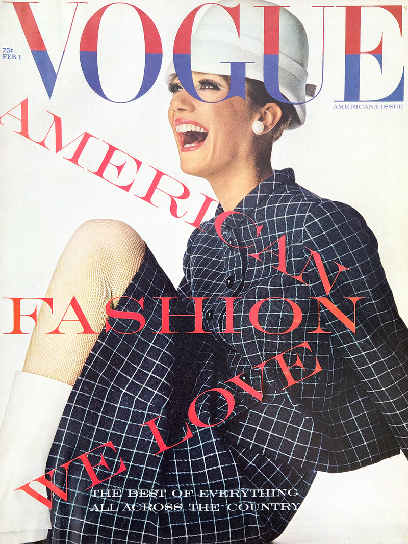 Archived - Vogue US February 1st 1966