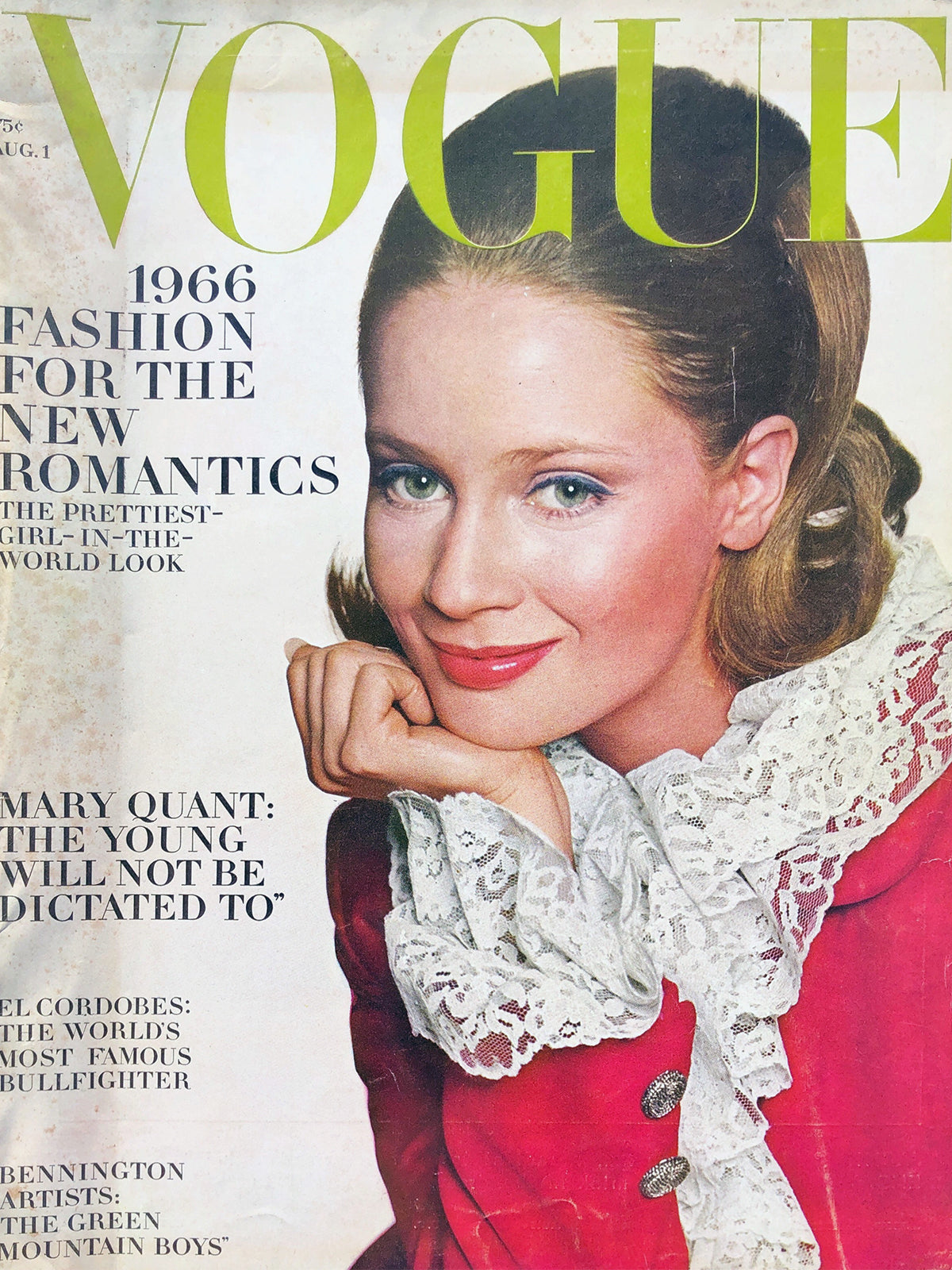 Archived - Vogue US August 1st 1966