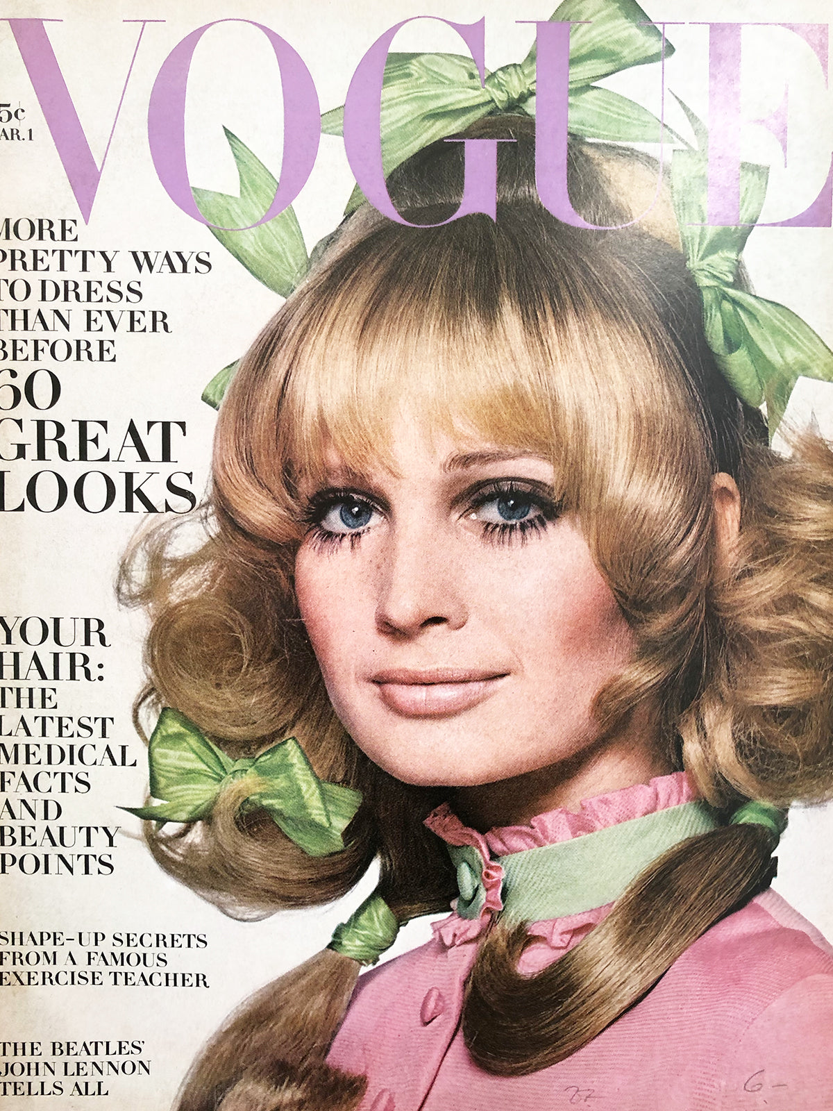 Archived - Vogue US March 1st 1969