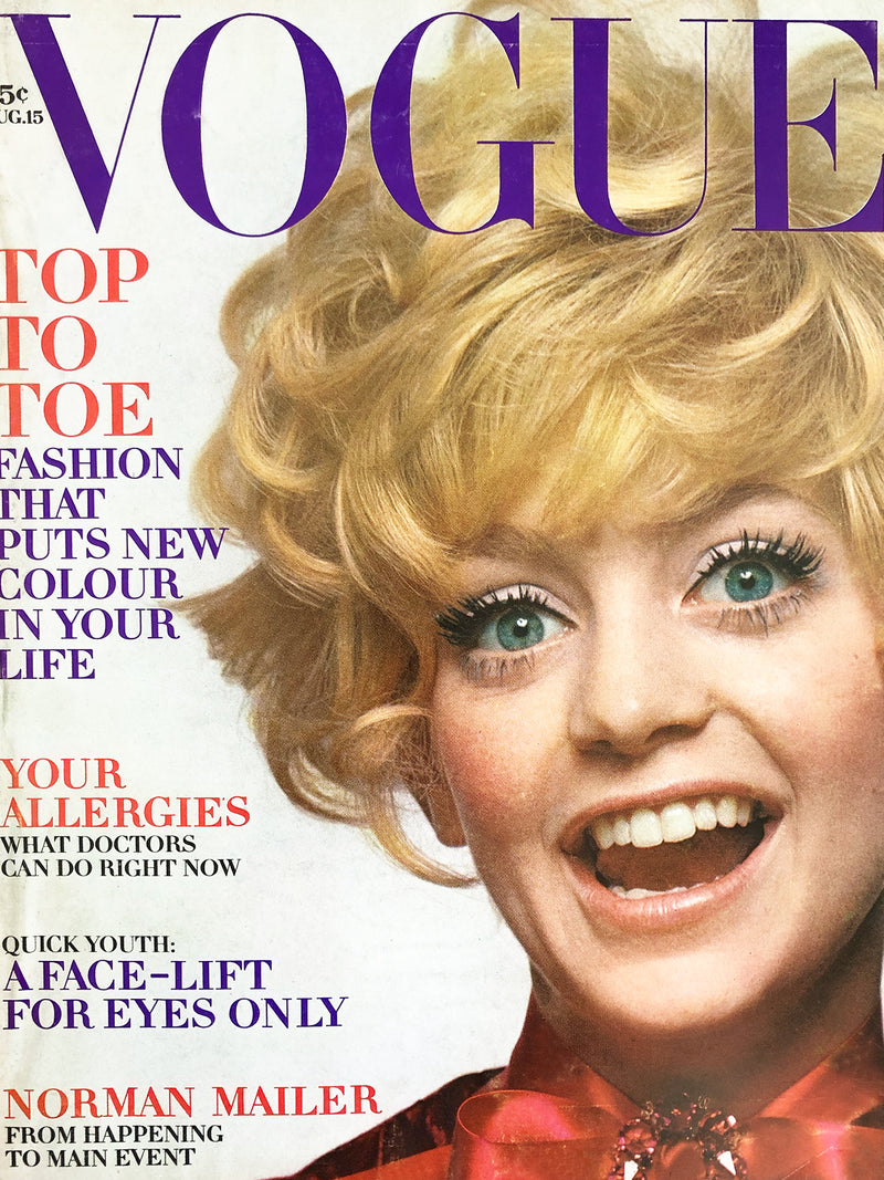 Archived - Vogue US August 15th 1969