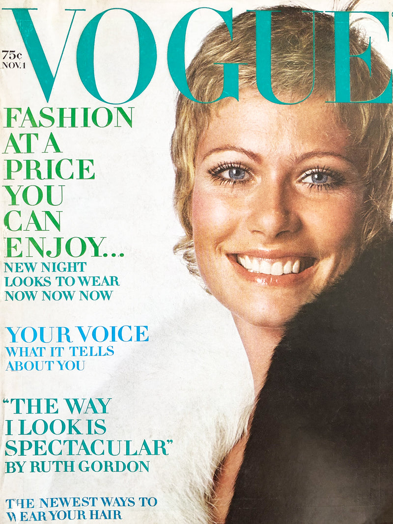 Archived - Vogue US November 1st 1969