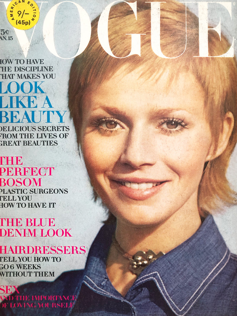 Archived - Vogue US January 15th 1971