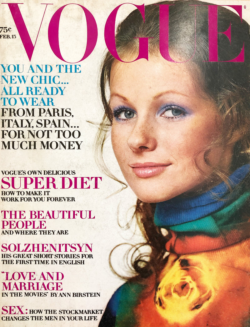Archived - Vogue US February 15th 1971