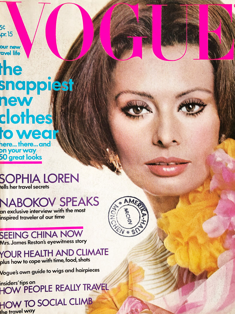 Archived - Vogue US April 15th 1972