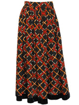Sold - YVES SAINT LAURENT A/W 1983/84 Vintage Skirt Size XS