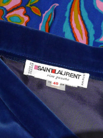 Sold - YVES SAINT LAURENT Fall 1976 Russian Collection Peasant Blouse & Maxi Skirt Size S