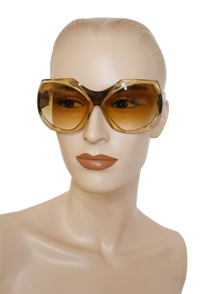 YVES SAINT LAURENT 1970s Vintage Sunglasses Mod. 403