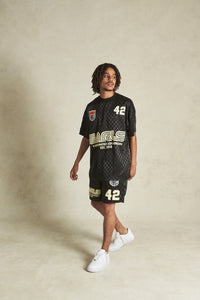 Earls Heritage Soccer Jersey - Black
