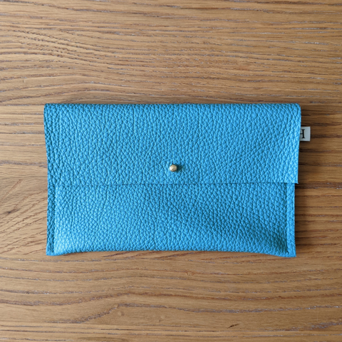 Leather Purse - Teal