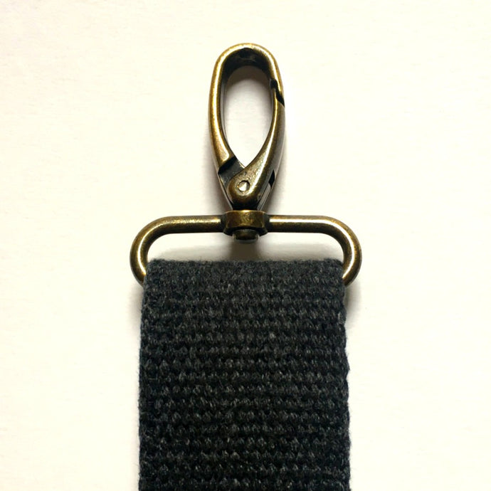 Charcoal Crossbody Strap