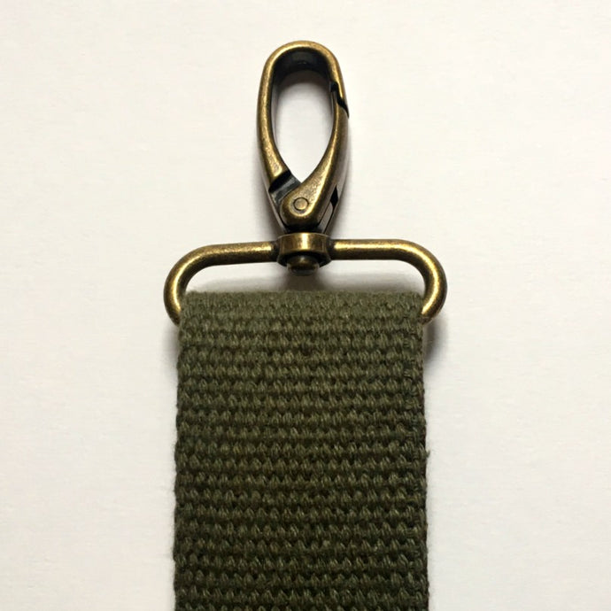 Muted Green Crossbody Strap