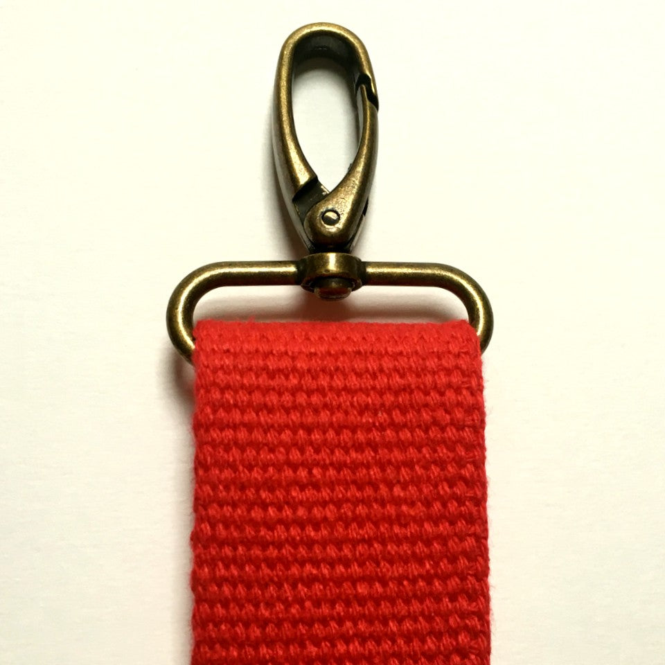 Red Crossbody Strap