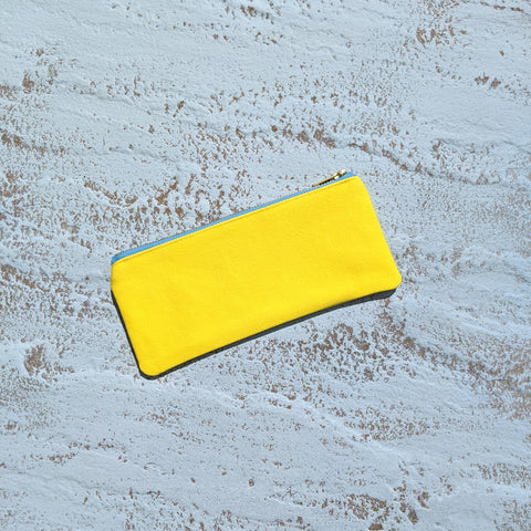 Pencil Case - Yellow