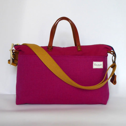 Limited Edition Pink Top Zip Messenger