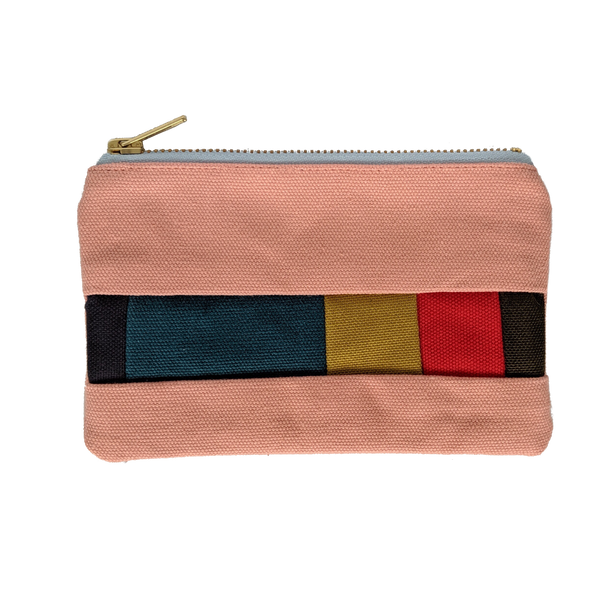 Large Festival Purse - Salmon Pink