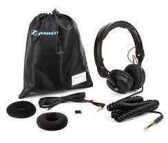 Sennheiser HD25 Plus DJ Headphones w/ Straight & Coiled Cables