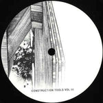 Various ‎– Construction Tools Vol III - Berg Audio ‎– BERGAMON10_3