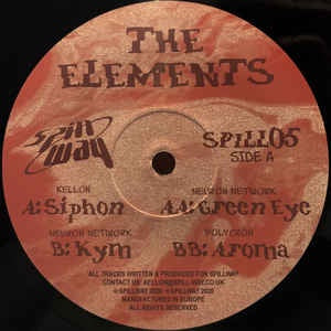 Various ‎– The Elements - Spillway ‎– SPILL05