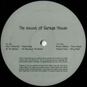 Various ‎– The Sound Of Garage House - Plastik People Recordings ‎– PPR20