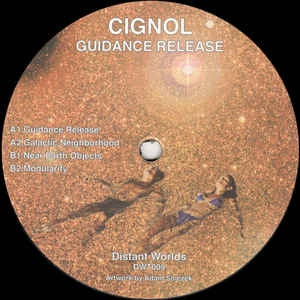 Cignol ‎– Guidance Release - Distant Worlds ‎– DWT009