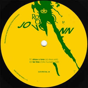 Jovonn ‎– Goldtone Edits - Royal Oak ‎– Royal 44