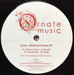 Gauss ‎– Maximum Entropy EP - Ornate Music ‎– ORN 025
