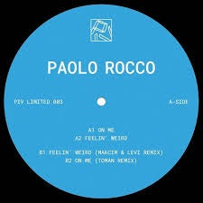 Paolo Rocco ‎– Piv Limited 003 - PIV Limited ‎– PIVLIM003