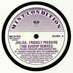 Jhelisa ‎– Friendly Pressure (1998 Sunship Remixes) - Mint Condition ‎– MC040