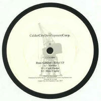 Russ Gabriel ‎– Relief EP - Calder City Development Corp. ‎– CCDC004