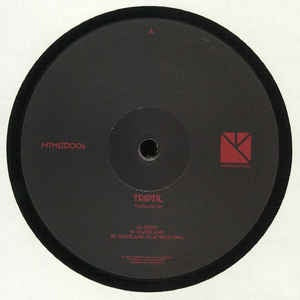 Triptil ‎– Wasteland EP - More Than Music ‎– MTMLTD006