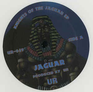 UR ‎– Knights Of The Jaguar EP - Underground Resistance ‎– UR-049