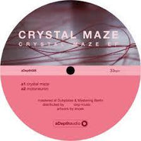 Crystal Maze ‎– Crystal Maze EP - aDepth audio ‎– aDepth006