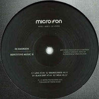 DJ Emerson ‎– Repetitive Music 2 - Micro.fon ‎– MF051