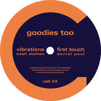 Various, Noah Skelton, Daniel Paul, Phazer, Youandewan ‎– Goodies Too - Cabinet Records ‎– cab 54