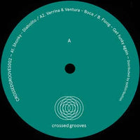 Various ‎– Crossedgrooves002 - Crossed Grooves ‎– CRSS GROOVES 002