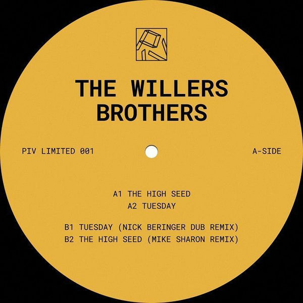 The Willers Brothers ‎– Piv Limited 001 - PIV Records ‎– PIVLIM001
