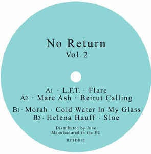 L.F.T. / Marc Ash / Morah / Helena Hauff ‎– No Return Vol. 2 - Return To Disorder ‎– RTTD010