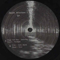 Various ‎– Depth Structure I EP - Hidden Traffic ‎– HT003