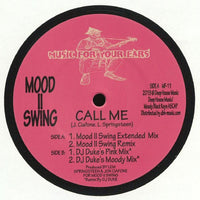 MOOD II SWING ‎– Call Me (remixes) - Music For Your Ears ‎– MF-11