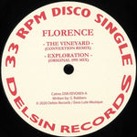 Florence - The Vineyard - DSR/EEVO003 - Delsin Records
