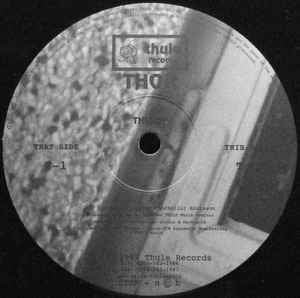 Thor ‎– T1 / T2 - Thule Records ‎– THL009