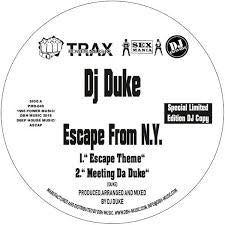 DJ Duke ‎– Escape From N.Y. - Power Music Records ‎– PMD-040