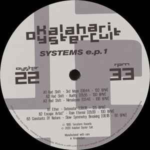 Various ‎– Systems E.P. 1 - Kalahari Oyster Cult ‎– OYSTER22
