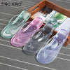 Women Summer Flip Flops Transparent
