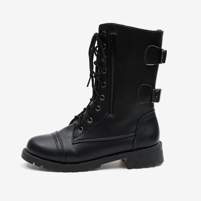 Boots Female Lace Up Punk