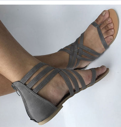 Sandals For Beach Summer Flat Sandals Soft
