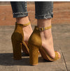 Ankle Strap Summer Shoes Woman High