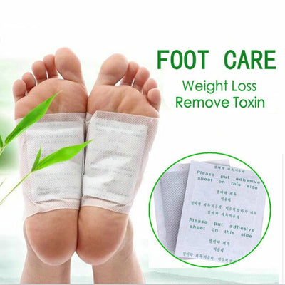 Foot Care Tool Weight Loss Pads - 20pc=(10pc Patches+10pc Adhesives)