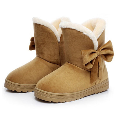 2019 Women Snow Boots Winter Fur Ankle Boot