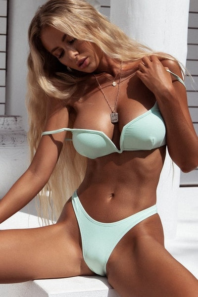 High Quality Swimwear Women Bikinis Set